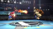 Bola de fuego personalizable (segundo efecto) en el aire SSB4 (Wii U)