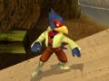 Falco espera Pose Melee