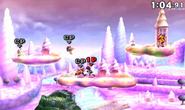Flying Men en Magicant en SSB4 (3DS)
