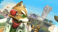 Fox visto de cerca en la versión de SSB4 (Wii U)