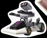 Pegatina R.O.B. en Mario Kart DS (EEUU)
