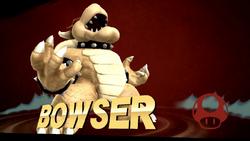 Pose de victoria de Bowser (3-2) SSB4 (Wii U)