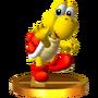 Trofeo de Koopa Troopa (rojo) SSB4 (3DS)