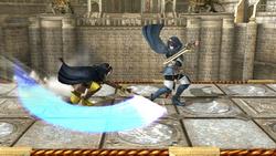 Bloqueo simple (Lucina) (2) SSB4 (Wii U)