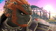 Ganondorf en el Campo de batalla SSB4 (Wii U)