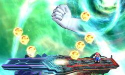 Master Hand Bola Ígnea (2) SSB4 (3DS)