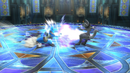 Palmeo (Lucario) (3) SSB4 (Wii U)