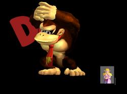 Pose de victoria Donkey Kong Y (1) SSBM
