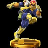 Trofeo de Captain Falcon SSB4 (Wii U)