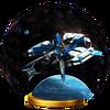 Trofeo de Estación espacial SSB4 (Wii U)