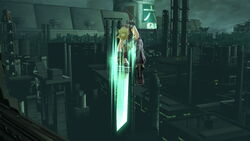 Ataque aéreo hacia abajo Cloud (2) SSB4 (Wii U)