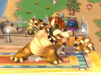 Ataque fuerte lateral Bowser SSBB