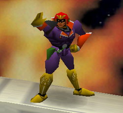 Burla Captain Falcon SSB