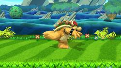 Burla hacia abajo Bowser (2) SSB4 (Wii U)