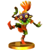 Trofeo Skull Kid SSB4 (3DS)