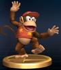 Trofeo de Diddy Kong SSBB