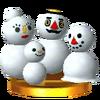 Trofeo de Familia de Nieve SSB4 (3DS)