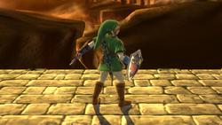 Burla superior de Link (2) SSB4 (Wii U)