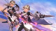 Corrin hombre y mujer en Destino Final SSB4 (Wii U)