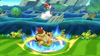 Lanzamiento hacia arriba de Bowser (3) SSB4 (Wii U)