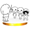 Trofeo de Chicos del coro SSB4 (3DS)