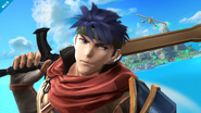 Ike en Pilotwings SSB4 (Wii U)