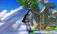 Lanzamiento hacia arriba Lucina SSB4 (3DS)