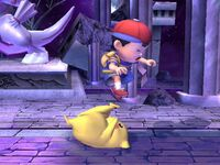 Lanzamiento trasero Pikachu SSBB