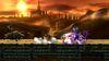Lucario, Zelda, Bowser y Link en el Gran Puente de Eldin SSB4 (Wii U)