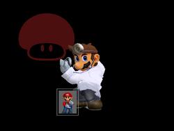 Pose de victoria Dr. Mario X (3) SSBM