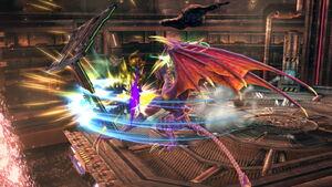 Triple zarpazo (3) SSB4 (Wii U)