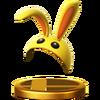 Trofeo de Capucha de conejo SSB4 (Wii U)