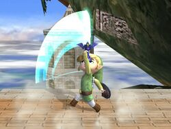 Ataque Smash superior Toon Link SSBB