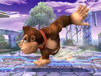 Ataque fuerte lateral Donkey Kong SSBB