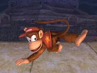 Ataque normal Diddy Kong SSBB (3)