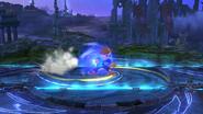 Karateka Mii usando Puño del dragón (1) SSB4 (Wii U)