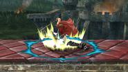 Lanzamiento inferior de Ike (1) SSB4 (Wii U)