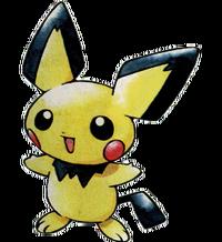 Pichu Pokémon Oro y Plata