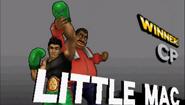 Pose de victoria Little Mac SSB4 (3DS) (1)