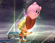 Smash meteórico Kirby SSBB