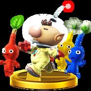 Trofeo de Olimar SSB4 (Wii U)