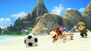 Créditos Modo Senda del guerrero Dúo Duck Hunt SSB4 (Wii U)