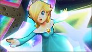 Créditos Modo Senda del guerrero Estela y Destello SSB4 (3DS)