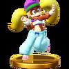Trofeo de Tiny Kong SSB4 (Wii U)