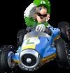 Art de Luigi en Mario Kart 8