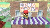 Ataque Smash hacia abajo Ness (1) SSB4 (Wii U)