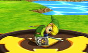 Burla inferior Toon Link SSB4 (3DS) (2)