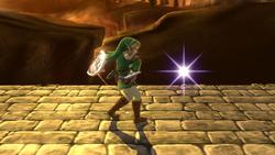 Burla superior de Link (1) SSB4 (Wii U)