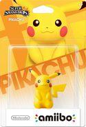 Embalaje del amiibo de Pikachu (América)