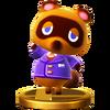 Trofeo de Tom Nook SSB4 (Wii U)